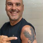 Stefan Dederichs und Adler Tattoo