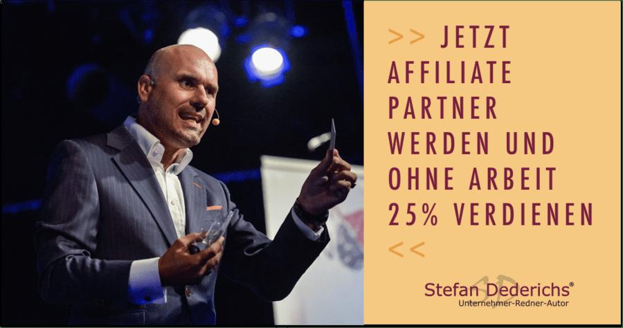 Affiliate Partner werden Stefan Dederichs